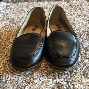 Ecco Black Loafers